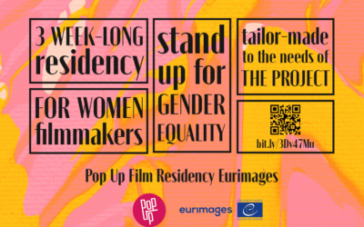 Apply to the Pop Up Film Residency Eurimages